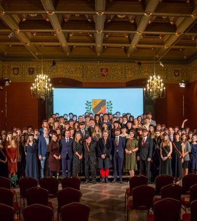 Korporacijos RePublica 20-metį vainikavo prof. Vytauto Landsbergio paskelbimas garbės nariu